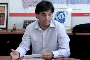 """Sebastián Galmarini repudió que Carrió """"use los medios para extorsionar"""""""