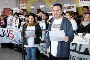 """Familiares de la tragedia de Once: """"No nos temblará la voz para denunciar"""""""
