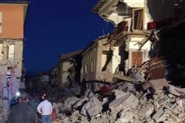 En Amatrice, el pueblo m�s golpeado, debieron evacuar a la mitad de la poblaci�n