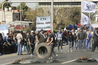 Crece el consenso en el oficialismo contra los piquetes como forma de protesta