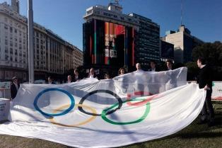 Horacio Rodríguez Larreta inicia el tour de la antorcha olímpica