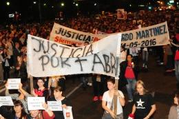 Multitudinaria marcha en Rosario en reclamo de �mayor seguridad y justicia�