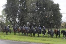 Concluy� sin incidentes el desalojo de los terrenos tomados en Moreno