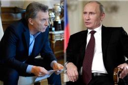 Macri y Putin hablar�n sobre la represa neuquina Chihuido