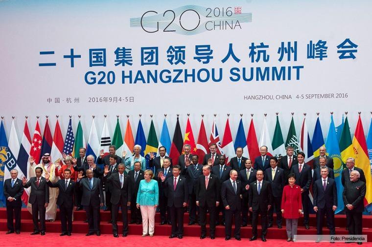 Peña y Obama se encuentran en Cumbre del G20