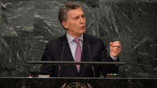 Macri emprende un viaje relámpago a Nueva York para hablar en la ONU