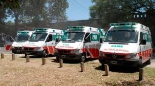 El servicio del SAME llegará a 77 municipios para 2018