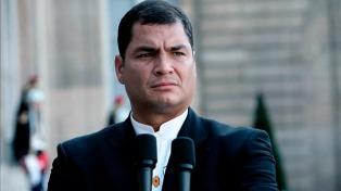 Correa anuncia que deja la Alianza País por sus diferencias con Moreno