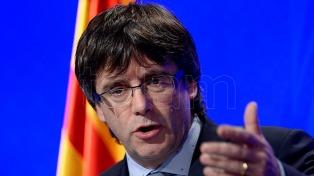 Puigdemont advirtió que el Parlamento catalán votaría la independencia