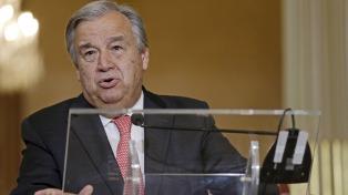 """""""La crisis siria es un cáncer global"""", dijo el sucesor de Ban Ki-moon"""