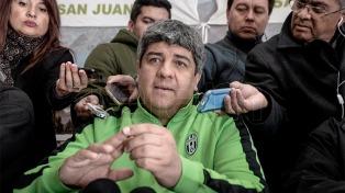 """Pablo Moyano presionó a la CGT para que """"convoque a un paro en abril"""""""