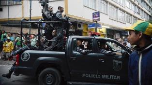 Temer autoriza a las Fuerzas Armadas a intervenir las calles de Río de Janeiro