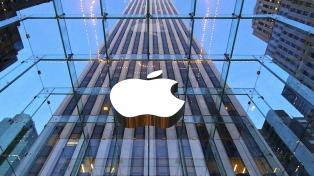 La acción de Apple se derrumbó 8,24% y la empresa perdió US$ 57.000 millones en un día