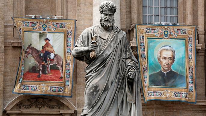 El Papa elevó a santo al padre Brochero, el histórico cura gaucho