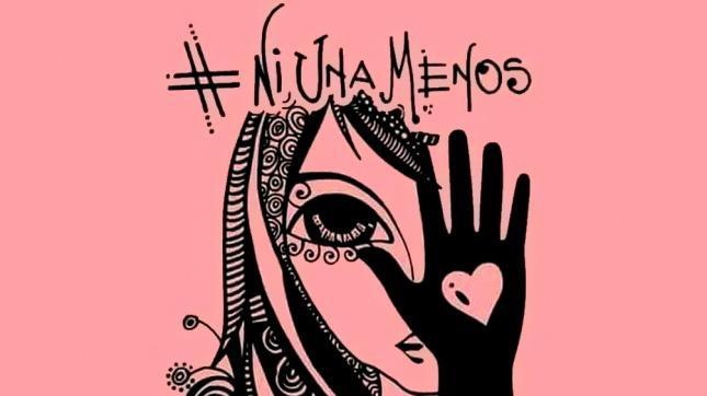 La artista que se volvió viral de la mano del #NiUnaMenos