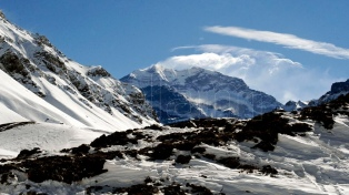 Una bisabuela de 83 años intentará escalar el Aconcagua junto a Oberto y Pareto