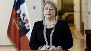 """Bachelet pidió a la ONU que no se utilizen los DDHH para """"razones subalternas de algún estado"""""""