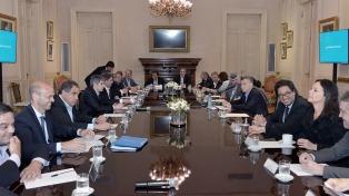 El Presidente analiza su primer año de gestión con todo su Gabinete