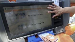En tres ciudades de Córdoba regirá el voto electrónico
