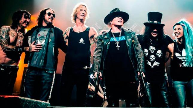 Los  Guns N´ Roses en Rosario