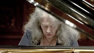 La pianista Martha Argerich, miembro de honor de la Konserthaus de Viena
