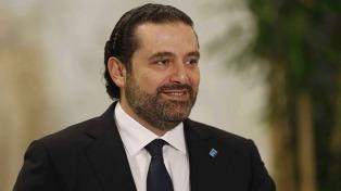 El premier libanés viajó a Abu Dabi, mientras crece la incertidumbre de su país
