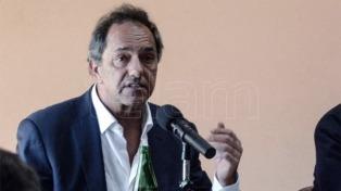 Daniel Scioli dice que no piensa ser candidato en octubre