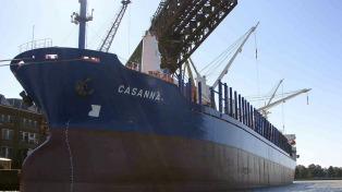 Astillero Río Santiago entrega a la Armada el buque ARA King