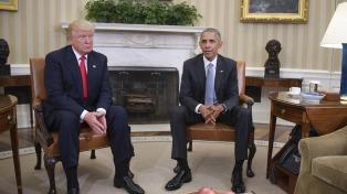 Trump se burló de Obama y celebró el avance de los republicanos en los sondeos