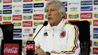 Colombia ya está en San Juan para jugar con Argentina