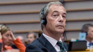 Farage advirtió sobre una posible marcha atrás de la salida del bloque europeo