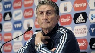 Bauza probó un medio campo con Buffarini, Enzo Pérez, Pizarro y Banega