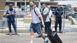 Messi y Mascherano se sumaron al seleccionado argentino