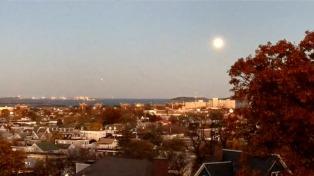 La Superluna, en Estados Unidos