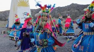 La Pachamama elegida pidió respeto para las mujeres y para los jóvenes
