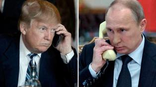 Trump se mostró conciliador con Putin tras conversar sobre Venezuela