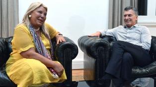 Macri se reunió con Carrió en Olivos y abordaron la agenda política y legislativa