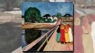 """Subastan """"Las chicas del puente"""" de Edvard Munch"""