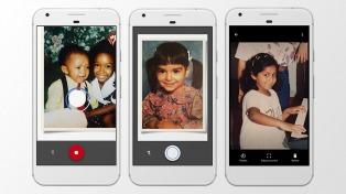 Google lanzó una app gratuita para escanear fotos impresas en alta calidad