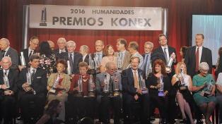 Se entregaron los premios Konex