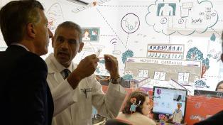 El Gobierno presentó el programa de salud pediátrica a distancia que coordinará el Hospital Garrahan