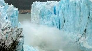 """Para un especialista, es """"aventurado"""" hablar de la ruptura del Glaciar Perito Moreno"""