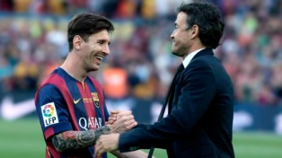 Trofeos y goles por temporada de Messi