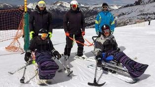 Invap diseñará y construirá en Bariloche sillas de esquí adaptado