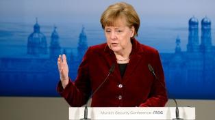 """Merkel quiere explotar el """"potencial"""" de las relaciones con Montevideo"""