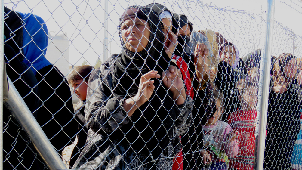 Miles de mujeres y niños están recluidos de forma inhumana en Siria e Irak
