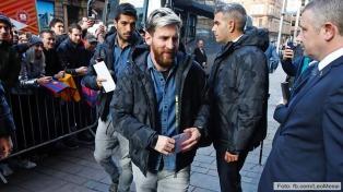 Messi y el Barcelona, con todo listo en Escocia