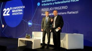 """Frigerio: """"El desafío que tenemos en Argentina es crecer de manera sostenible en el tiempo"""""""