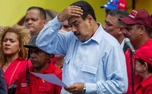 Washington impuso sanciones a seis personas del entorno del presidente Maduro