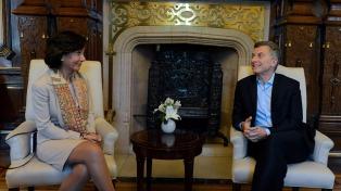Ana Botín se reunió con Macri y anunció una nueva línea de crédito para pymes exportadoras